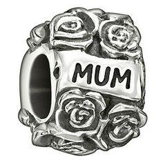 Chamilia Sterling Silver Mum Flower Bead @ Ernest Jones