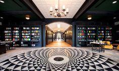 Oxford Exchange | Tampa | Restaurant | Interior Design - amazing marble tile floor