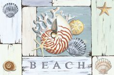Beach Seashell Doormat