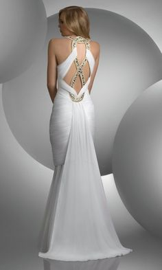 The back of the dress is gorgeous!