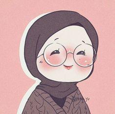 Girls Cartoon Art, Illustration Art Girl, Anime Art Beautiful, Cute Art, Cute Little Drawings, Cute Cartoon Wallpapers, Cute Drawings, Islamic Artwork, Islamic Cartoon