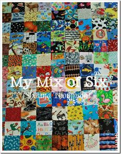 I Spy Quilt. Love this, and it's simple. Now I just need to finish my other quilt first.