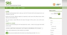 Get this ShareThis AddThis clone script site to Create your own content sharing bookmarking system for free.