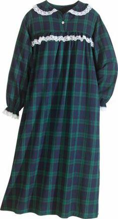 Foxfire Men 39 S Cotton Flannel Nightshirt 48 Hair