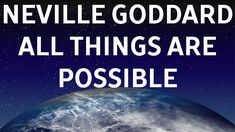 NEVILLE GODDARD - ALL THINGS ARE POSSIBLE. - YouTube Neville Goddard, Wayne Dyer, Abraham Hicks, Law Of Attraction, Lifestyle, Quotes, Youtube, Quotations, Quote