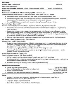 Resume Format For Teachers Awesome Grabbing Your Chance With An Excellent Assistant Teacher .