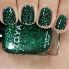 Zoya Merida   Fall 2016 Urban Grunge Collection   Peachy Polish #green