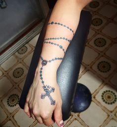 La Devocion Y Los Tatuajes De Rosarios En El Brazo Bansito