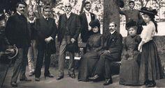 Família de Pereira Passos e amigos no Passeio Público, 1906. Fotografia: Augusto Malta.