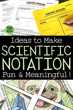 Ideas to Make Scientific Notation Fun and Meaningful!