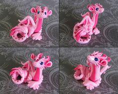 Pink Dragon by DragonsAndBeasties.deviantart.com on @deviantART