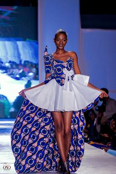 "There are so many ways to rock African dresses, fabrics & prints (also called ""dutch wax"", ""ankara"", & ""kente""), find the most fashionable looks & learn how to. African Dresses For Women, African Print Fashion, Africa Fashion, African Attire, African Wear, African Fashion Dresses, African Women, African Prints, African Style"