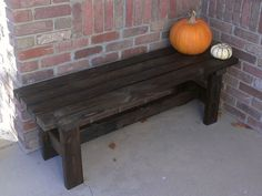 Erin Colburn's discussion on Hometalk. Build a bench for $15 - I built this simple bench with 2x4's. Check out full plans here: