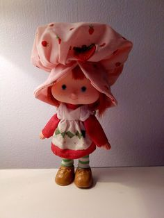 70s Vintage 1979 Strawberry Shortcake Doll American Greetings Corp