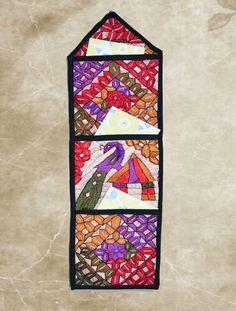 Handmade Wall Hanging,Wall art,Beautiful silk thread embroidery ...