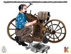 Gottlieb Daimler Pembuat Mobil yang  Pertama