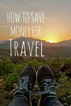 """12 ways to save money for travel. No advice to cut lattes. No talk of shorter showers. Just a solid how-to approach to saving cash for travel. """"How to Save Money for Travel"""" http://solotravelerblog.com/how-to-save-money-for-travel/"""