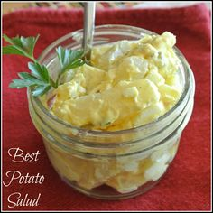 The BEST potato salad recipe ever!