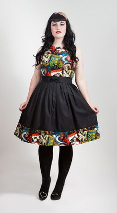 Horror Movie Monsters Dress by EmeraldAngel