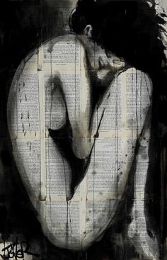 Incarnation, by Loui Jover.....I sketched something so similar to this once