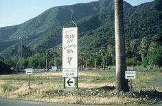 Spa sign c. 1990 #historic #GlenIvy #HotSprings