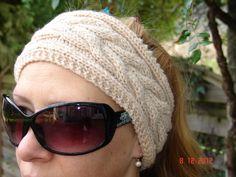 Modèle bandeau jacquard 99 03 Accessoire enfant gratuit à tricoter Mad laine