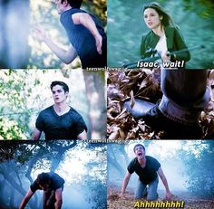 """More Bad Than Good""- Isaac and Allison >>> I literally cried at this part! Teen Wolf Mtv, Teen Wolf Dylan, Teen Tv, Teen Wolf Stiles, Teen Wolf Cast, Dylan O'brien, Teen Wolf Quotes, Teen Wolf Memes, Teen Wolf Seasons"