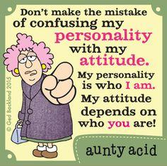 Aunty Acid Comic Strip, May 29, 2015 on GoComics.com