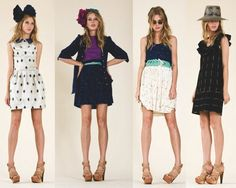 lauren moffatt--want all these outfits and the shoes. Maybe not the bow. I can't do bows.