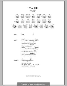 30 Seconds To Mars: The Kill (Bury Me)  - lyrics and chords