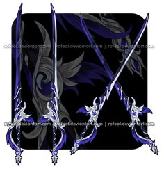 Anime Weapons, Fantasy Weapons, Armor Concept, Weapon Concept Art, Elemental Powers, Anime Ninja, Ajin Anime, Future Weapons, Sword Design