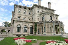 The Breakers - a Vanderbilt Newport, Rhode Island mansion, Ken Papai photo, 9/15/2004