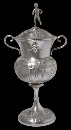 Dass and Dutt Calcutta Regimental Colonial Silver