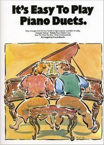 It's Easy to Play Piano Duets by Frank Booth