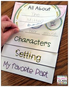 Jan Brett Author Study *The kids will LOVE this flip book!  Lots of great author study ideas $