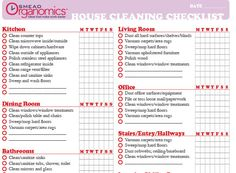 Image Result For Printable Household Chore List  Lists
