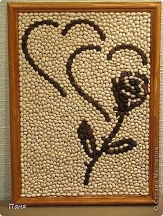 Seed Art Animal Print Rug Arabic Calligraphy Rugs Mayo Home Decor Spice Crafts Sketches Rock Crafts, Diy Home Crafts, Diy Arts And Crafts, Pista Shell Crafts, Coffee Bean Art, Seed Craft, Paper Flowers Craft, Coffee Crafts, Art N Craft