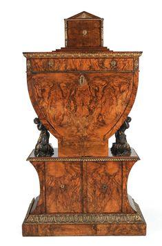 works of art rare biedermeier lyre shaped desk uwe fischer deutsche biedermeier mobel