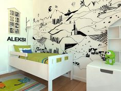 Nordhome Scandinavian nursery kids interior design
