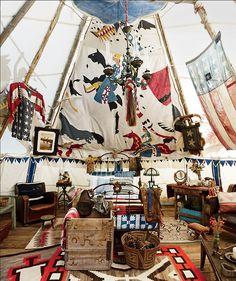 atelier688: A bit overdone but still fun! Love tents of all...