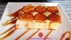 Receta de Pastel de galletas y leche condensada - Fácil