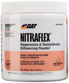 Wondering if you should take GAT Nitraflex pre-workout?  http://www.workoutnrecover.com/supplements/best-pre-workout-review/gat-nitraflex-review/