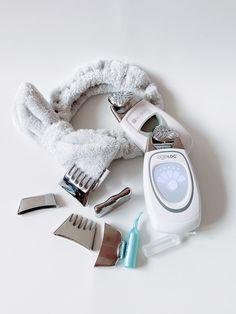 Galvanic Facial, Ageloc Galvanic Spa, Nu Skin Ageloc, Face Lines, Hair Serum, Spot Treatment, Home Spa, Skin Products, Makeup Kit