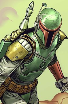 Star Wars Verse is your go-to source for high-quality Star Wars content. We cover Star Wars Theory, Comics, Explained, and so much more! Star Wars Comics, Star Wars Jokes, Star Wars Facts, Star Wars Fan Art, Ver Star Wars, Boba Fett Art, Star Wars Boba Fett, Jango Fett, Chasseur De Primes