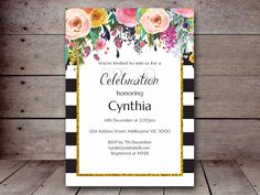 Bridal Shower Invitations – Printabell • Create
