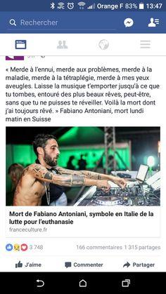 Fabiano Antoniani euthanasie