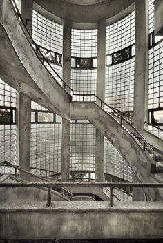 concrete tower by Sven Fennema, via 500px