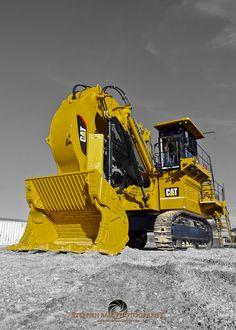 Sheer power! Cat 6018 Hydraulic Shovel #CatMachines