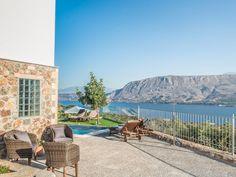 Relax while admiring the amazing mountain & sea views!