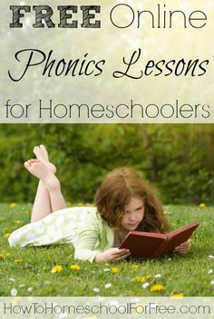 Jump-start your child's love of reading with these FREE online phonics lessons!